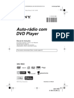 Manual DVD Sony Automotivo