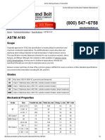 ASTM A193 Specification Portland Bolt