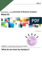Analytics Week1