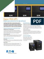 Eaton 9SX UPS Brochure