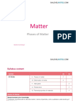 Physics phases of matter