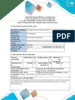 Guía de Actividades y Rúbrica de Evaluación - Fase 3 - Desarrollo Del Trabajo Sobre Los Procesos-Ed