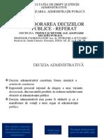 Elaborarea Deciziilor Publice - Referat