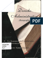 Derecho Administrativo Monografias