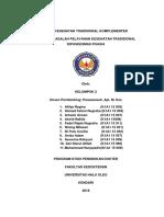 TBPL-Analisis Masalah Pelayanan Kesehatan Tradisional-Puskesmas Poasia-Arhami Arman Dkk-K1A115007