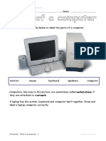 Worksheet - Parts of a computer.pdf