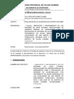 INFORME TEC. N° 04 LIQUIDACION AGUA HERCOMARCA , YURACCYACU