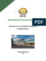 Programa  de Emprendimiento Empresarial Ucc