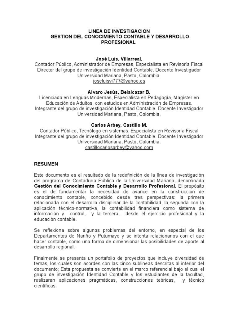 LINEA GESTION DEL CONOCIMIENTO CONTABLE JUL 22