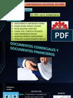 Documentos comerciales y financieros