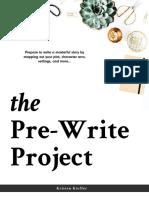 The Pre-write project
