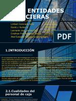 Caja - Entidades Financieras