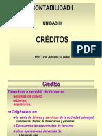RUBRO CREDITOS