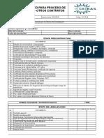 Co-fr-24 Lista de Chequeo Para Iniciar Proceso de Contratacion
