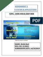 Darkweb Deep Web 1