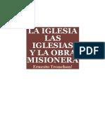 La Iglesia Las Iglesias y La Obra Misionera