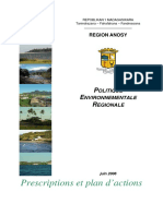 Politique environnementale Anosy