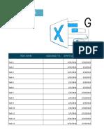 Gantt Chart Template Planio