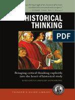 Historical Thinking Sample