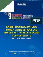 La Sistematizacion Una Forma de Investigar Las Practicas y Producir Saber y Conicimiento