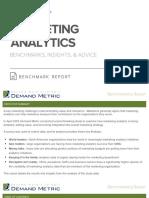 Marketing Analytics Benchmark Report