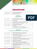 Programa. Simposium Internacional de La Uva