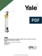 Yale Polipasto Manual VS051 OIM&M
