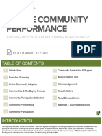 Online Community Performance Benchmark Report
