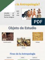 Antropología exposición