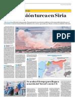La Incursión Turca en Siria