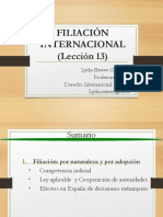 13- FILIACION 13