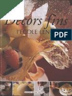 [ Cole Len Tre] Les Decors Fins de l 'Ecole Lenotre(Z-lib.org) (1)