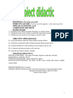 Proiect Didactic Consiliere