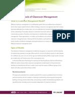 Classroom Management Managing M2 Reading1