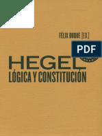 Felix Duque Hegel Logica y Constitucion 1