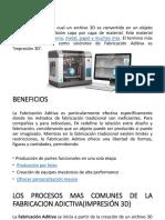Fabricacion Adictiva o Impresión 3d