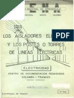 Los aisladores eléctricos y los postes o torres de líneas eléctricas.pdf