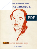 MENDOZA Gunnar (1987) - Doctor Honoris Causa UMSA