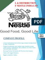 Nestle Distribution Channel