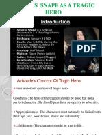 Snape as tragic hero