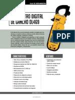 Multimetro Digital de Gancho DL469