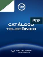 Catálogo telefônico Comaer