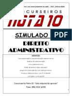 Simulado 2 Questões e Concursos Administrativo