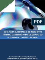 Guia para Elaboração de Regimento Interno do GDF