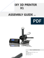 Tronxy x1 assembly guide