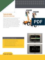 Brochure Semaforo de Transito Portatil Sobre Remolque Tdl-2312g2