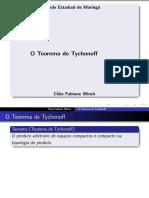 teorema de Tychonoff