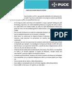 CASO DE ESTUDIOS DE BASE DE DATOS