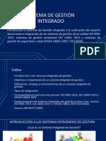 SISTEMAS DE GESTION INTEGRADA