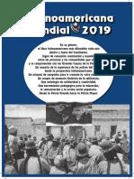 Agenda Latinoamericana 2019